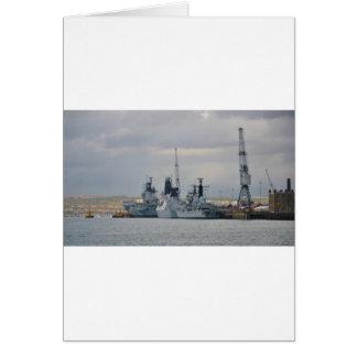 ポーツマスの軍艦 カード