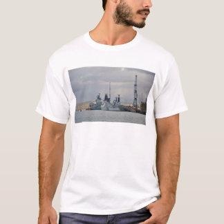 ポーツマスの軍艦 Tシャツ