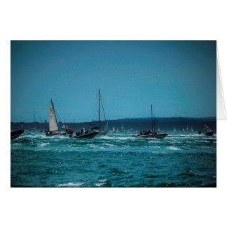 ポーツマス港の競艇 カード