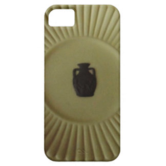 ポートランドつぼが付いているすばらしいオリーブ色19Cのプレート iPhone SE/5/5s ケース