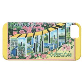 ポートランドオレゴン大きい手紙の挨拶 iPhone SE/5/5s ケース