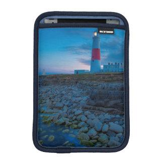 ポートランドビル灯台のたそがれ iPad MINIスリーブ