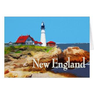 ポートランドヘッド灯台ニューイングランド カード