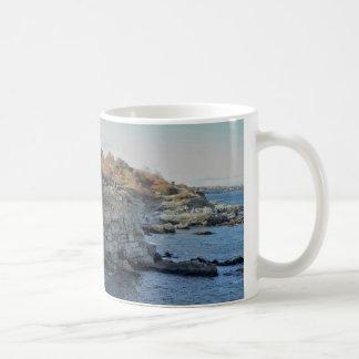 ポートランドメイン崖 コーヒーマグカップ