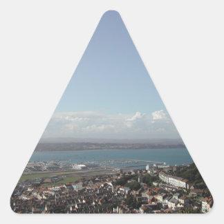 ポートランド港。 ドーセット、イギリス 三角形シール