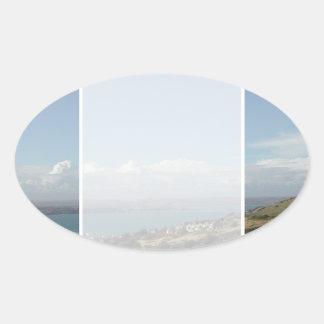 ポートランド港。 ドーセット、イギリス 楕円形シール