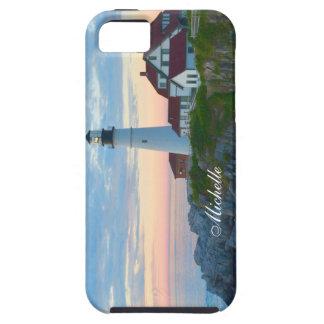 ポートランド美しい灯台 iPhone SE/5/5s ケース