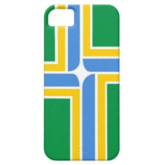 ポートランド都市旗の箱米国 iPhone SE/5/5s ケース