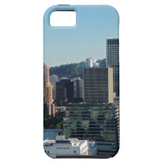 ポートランド都心のスカイライン iPhone SE/5/5s ケース