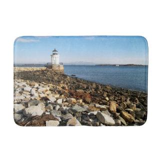 ポートランド防波堤の灯台、メイン バスマット