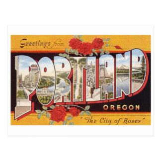 ポートランド: バラの都市 ポストカード