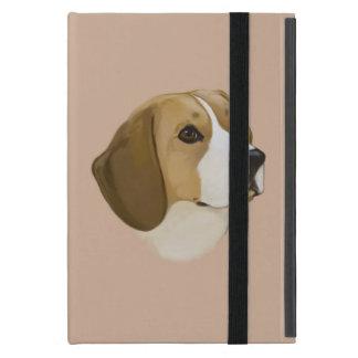 ポートレートのビーグル犬 iPad MINI ケース
