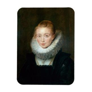 ポートレートの女中の名誉のInfantaイザベラRubensポール マグネット
