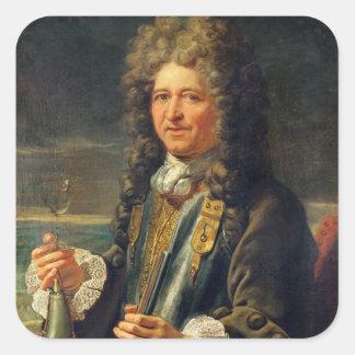 ポートレートはSebastien le Prestreであると推定しました スクエアシール