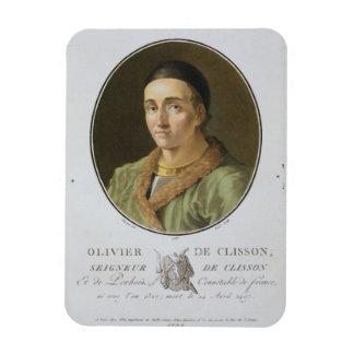 「ポートレートdesからのOlivier de Clisson (1336-1407年) マグネット