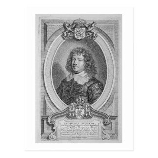 「ポートレートdes HommからのウィレムRipperda (1600-69年) ポストカード
