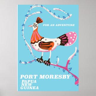 ポート・モレスビー、パプアニューギニア ポスター