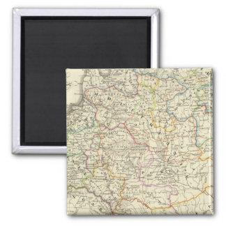 ポーランドおよびリスアニア1125-1386年 マグネット
