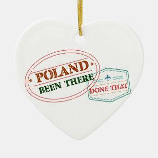 ポーランドそこにそれされる セラミックオーナメント