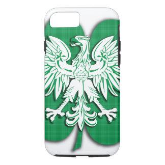 ポーランドのアイルランドの伝統のシャムロック iPhone 8/7ケース