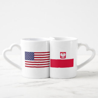 ポーランドのアメリカ愛 ペアカップ