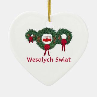 ポーランドのクリスマス2 セラミックオーナメント