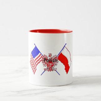 ポーランドのコップ ツートーンマグカップ