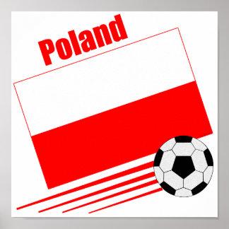 ポーランドのサッカーチーム ポスター
