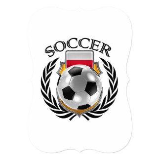 ポーランドのサッカー2016ファンのギア カード