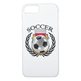 ポーランドのサッカー2016ファンのギア iPhone 8/7ケース