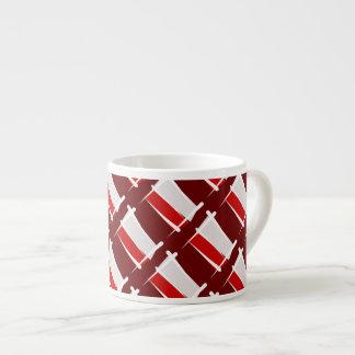 ポーランドのブラシの旗 エスプレッソカップ