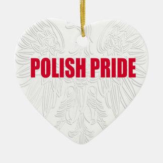ポーランドのプライド セラミックオーナメント
