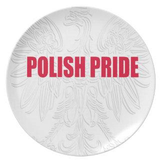 ポーランドのプライド プレート