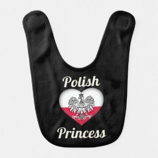 ポーランドのプリンセスのベビー用ビブ ベビービブ