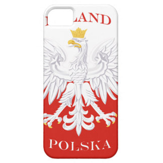 ポーランドのポーランドの旗のiPhone 5の穹窖ID™ iPhone SE/5/5s ケース