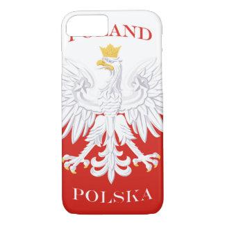 ポーランドのポーランドの旗 iPhone 8/7ケース