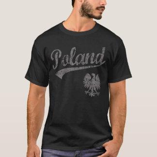 ポーランドのワシのスポーツのスタイル Tシャツ
