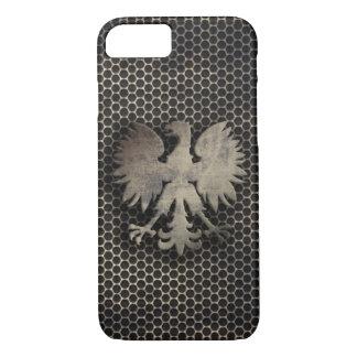 ポーランドのワシの金属のスタイルの一見 iPhone 8/7ケース