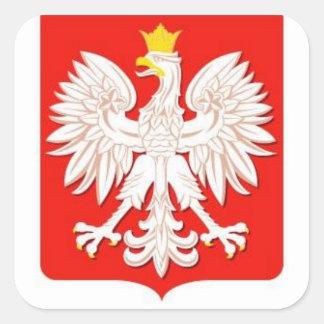 ポーランドのワシ スクエアシール