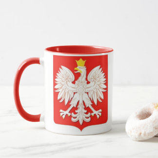 ポーランドのワシ マグカップ