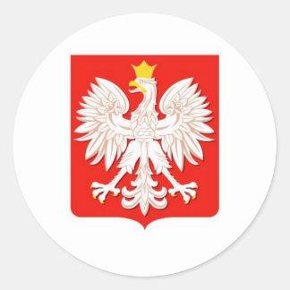 ポーランドのワシ ラウンドシール