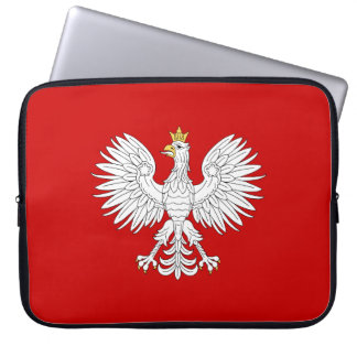 ポーランドのワシ ラップトップスリーブ
