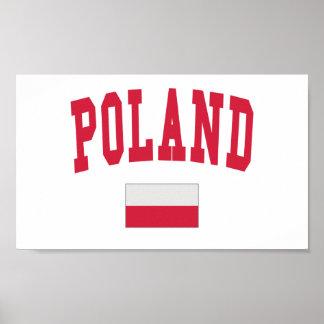 ポーランドの大学スタイル ポスター
