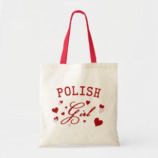 ポーランドの女の子のトートバック トートバッグ