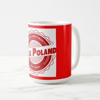 ポーランドの少しマグ コーヒーマグカップ