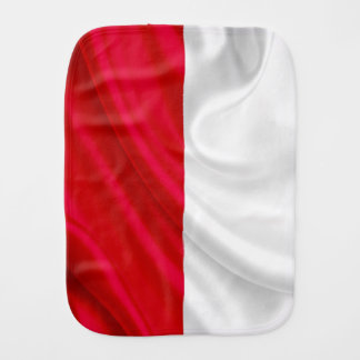 ポーランドの旗のベビー用バーブクロス バープクロス