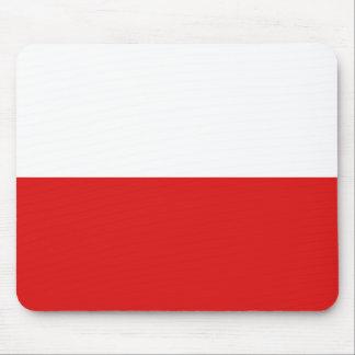 ポーランドの旗のマウスパッド マウスパッド