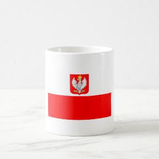 ポーランドの旗のマグ コーヒーマグカップ