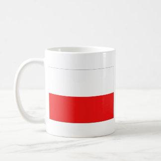 ポーランドの旗の~の地図のマグ コーヒーマグカップ