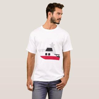 ポーランドの旗艇 Tシャツ
